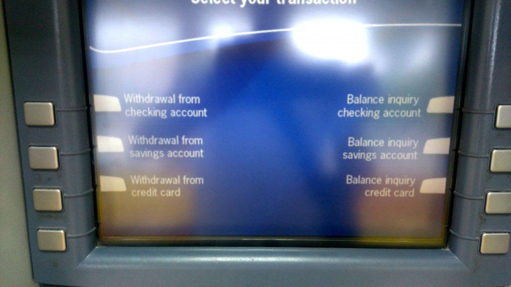 Geld-Tipps auf Reisen - ATM Geld abheben - Withdrawal
