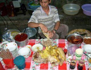 Essen im Ausland - vietnamesischer Kom Ga