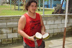 Essen im Ausland - Coco Frio in Costa Rica