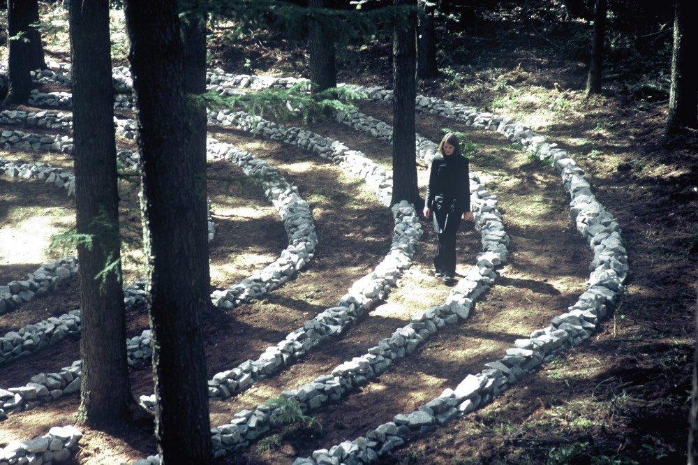 Kloster Labyrinth Damme Niedersachsen