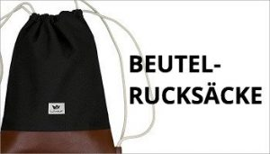 Beutel Rucksack - Turnbeutel - Hipster Beutel