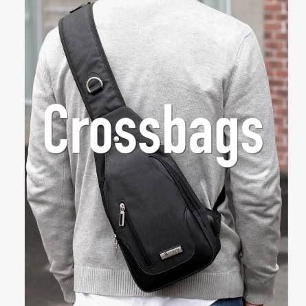 NEU Crossbag Brusttasche Schultertasche Bauchtasche Umhängetasche
