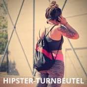 Hipster Turnbeutel