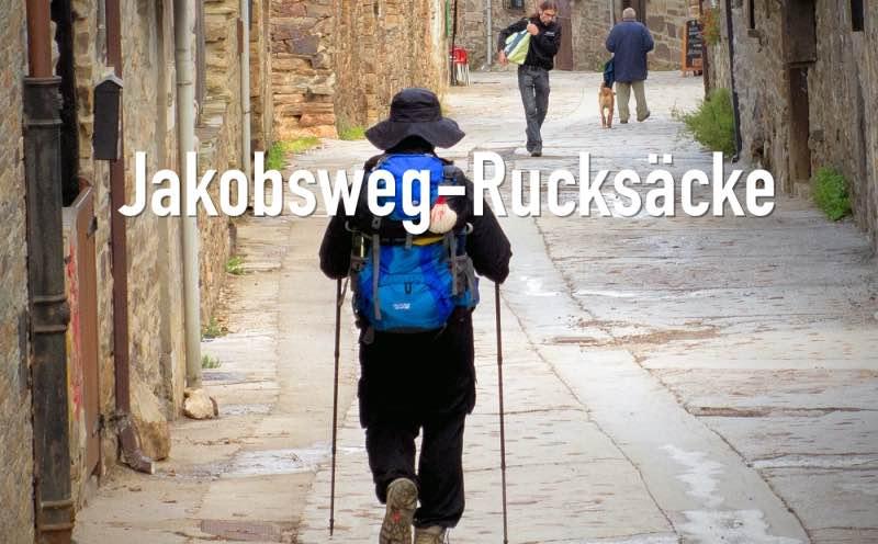 Jakobsweg Rucksack