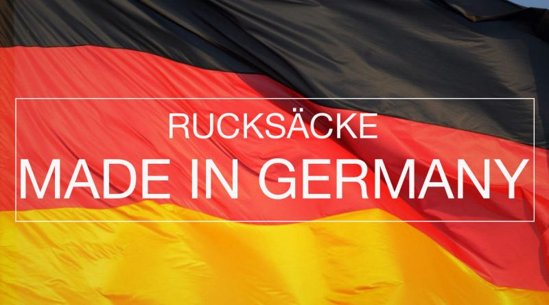 Rucksack Made in Germany
