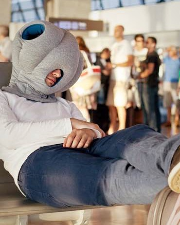 ostrich pillow Reisegadget