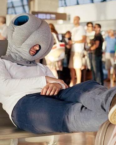 ostrich pillow Reisegadget