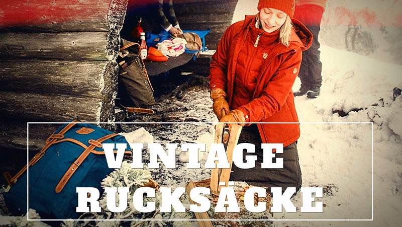 Vintage Rucksack